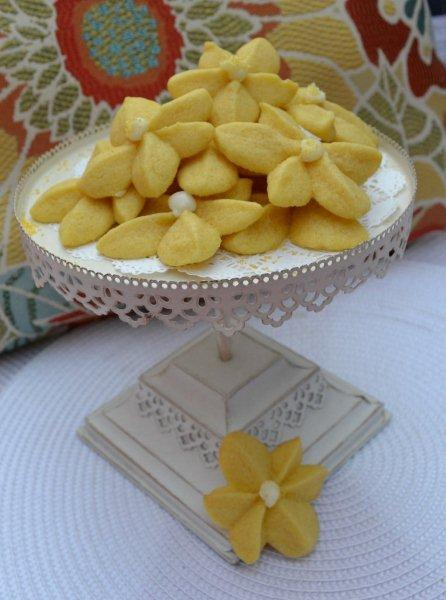 Lemon Blossom Cookies