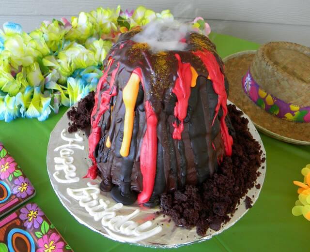 Volcano Cake Liz Bushong