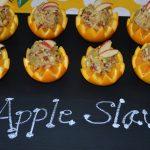 apple slaw in orange cup recipe