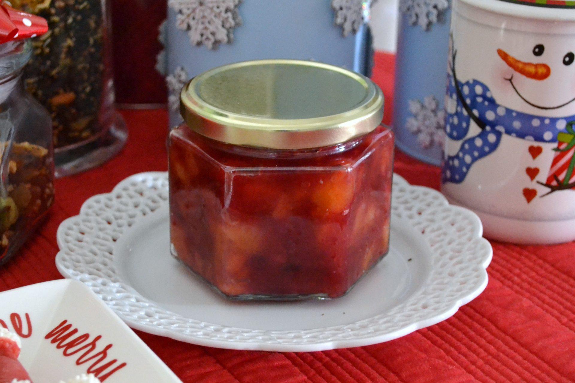 Cranberry Apricot Chutney
