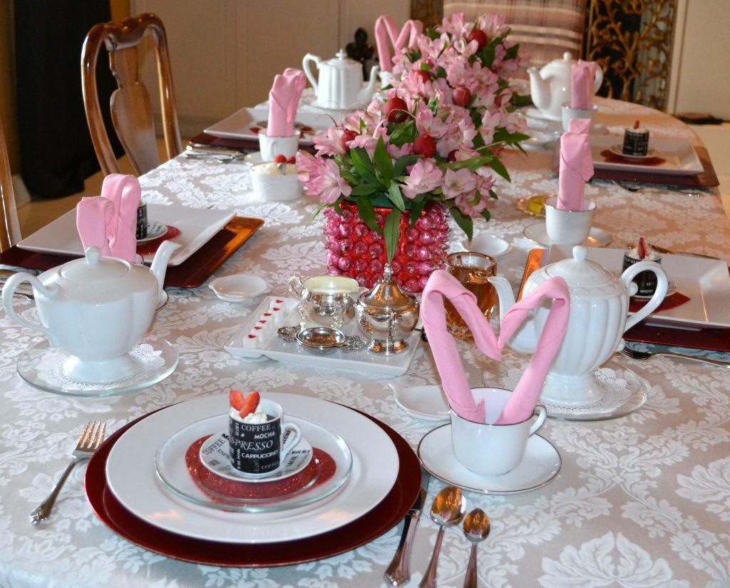 lizbushong.com Valentine Tea Table Scape