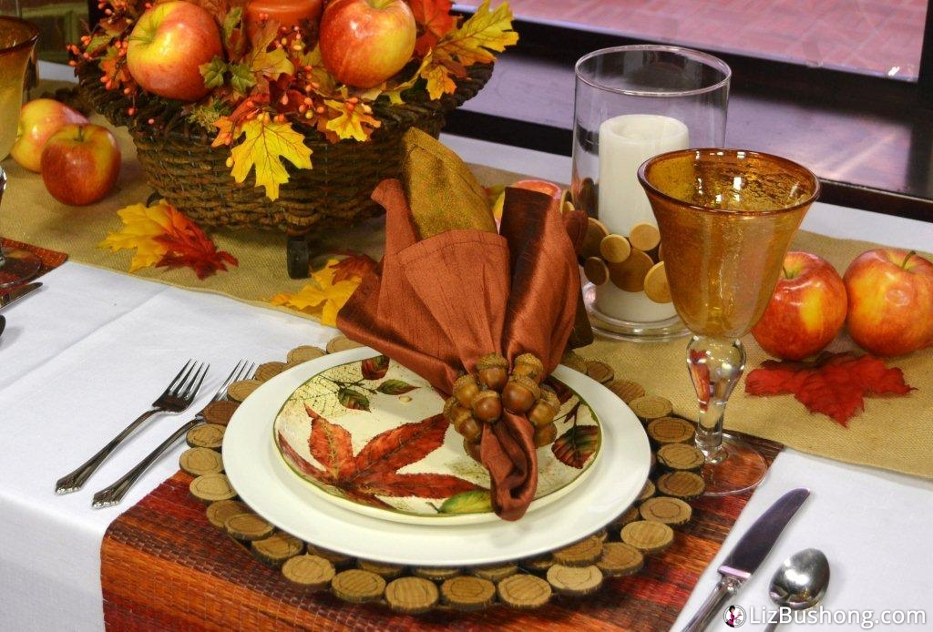 Daytime Blue Ridge Autumn Tablescape