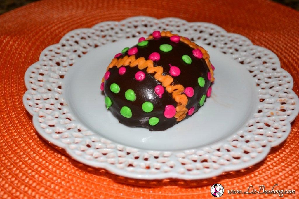 Chocolate Mousse Brownie cake Easter Egg