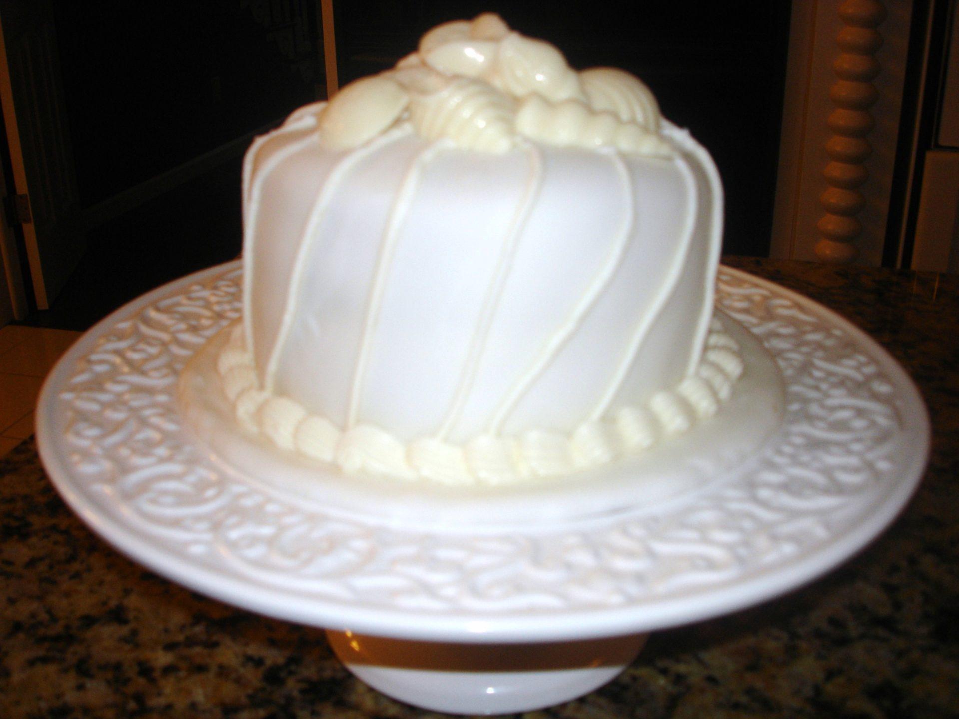 Seashell Beach Cake