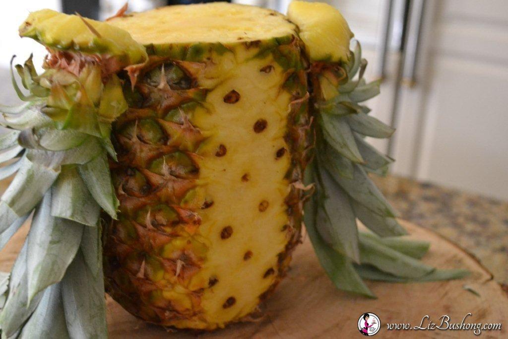 7 Steps to Create Pineapple Owl Centerpiece www.lizbushong.com