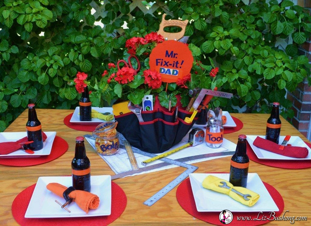 June 2015 Recipes >> Fathers Day Table and Menu Ideas - Liz Bushong