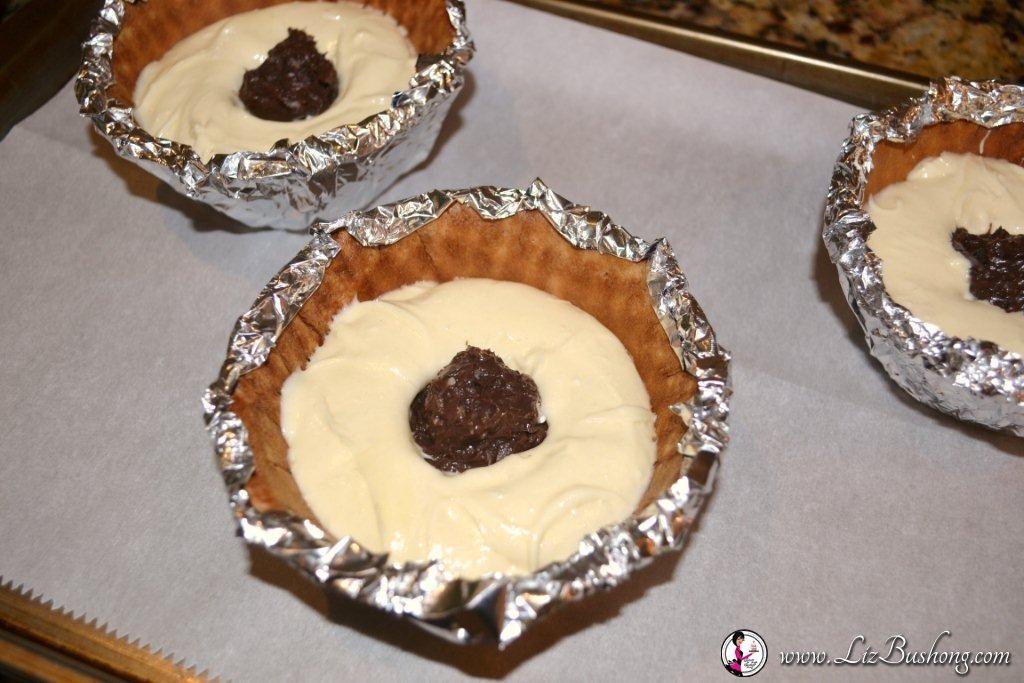 Chocolate Banana Sundae Cake|www.lizbushong.com