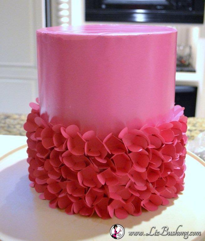 Sassy Cake Tutorial|lizbushong.com