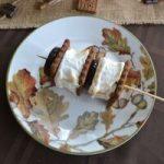 smore pumpkin dessert buffet:smore-kabob|www.lizbushong.com