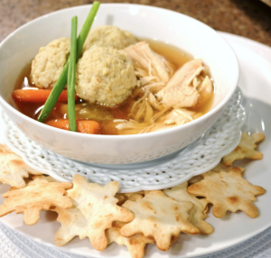 Chicken Matzo Ball Soup Recipe|www.lizbushong.com