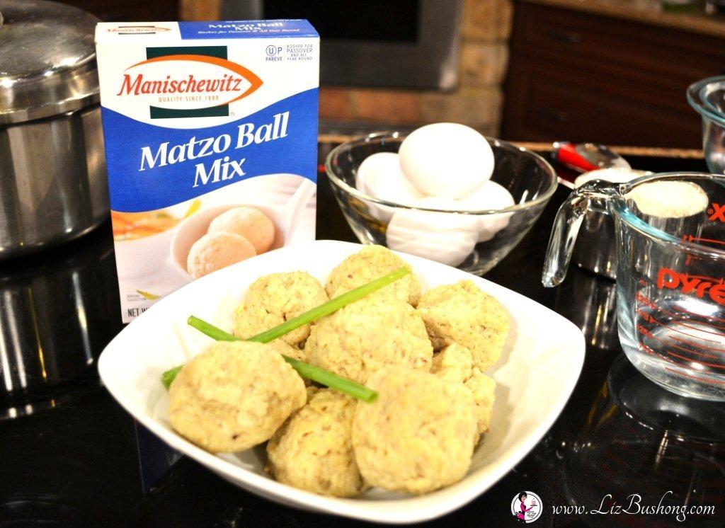Chicken Matzo Ball Soup Recipe|www.lizbushong.com