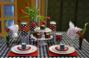 Valentines'Day Tablescape Ideas|www.lizbushong.com