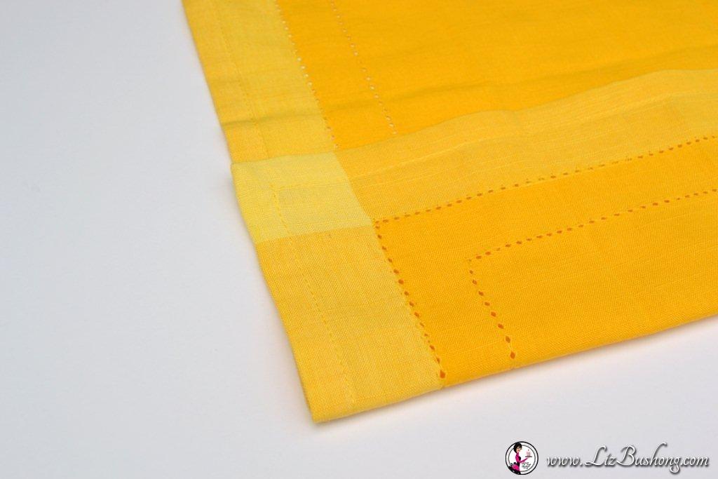 Bunny Ears napkin fold-5 inch fold-www.lizbushong.com - Copy
