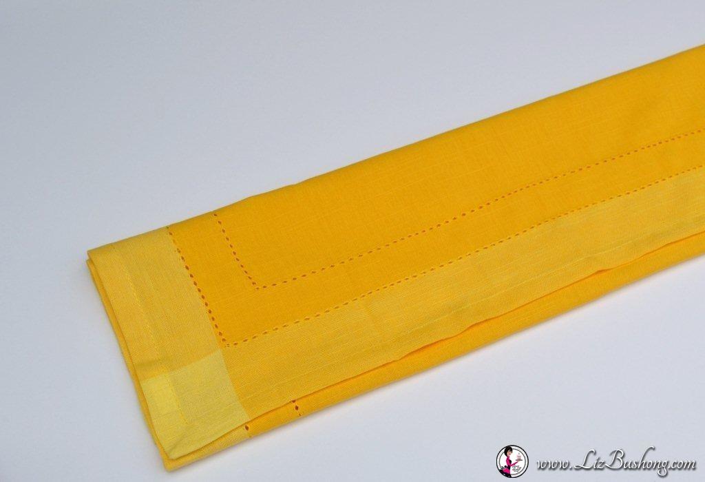 Bunny Ears napkin fold-step 6-www.lizbushong.com