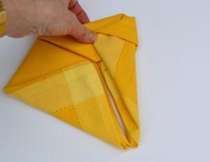 Bunny Ears napkin fold-step15-www.lizbushong.com