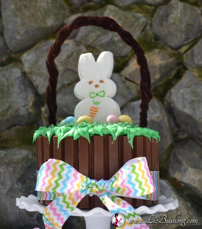 Easter Kit Kat Basket-close up-www.lizbushong.com