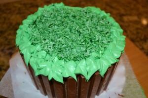Easter Kit Kat Basket-grass coconut top-www.lizbushong.com