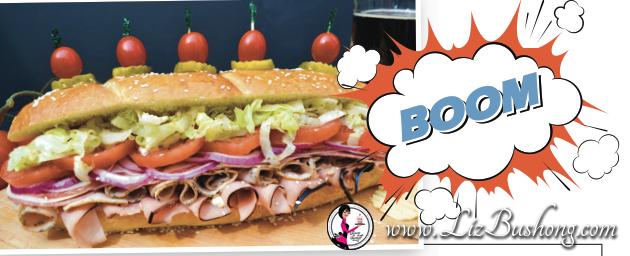 super hero sandwich-www.lizbushong.com