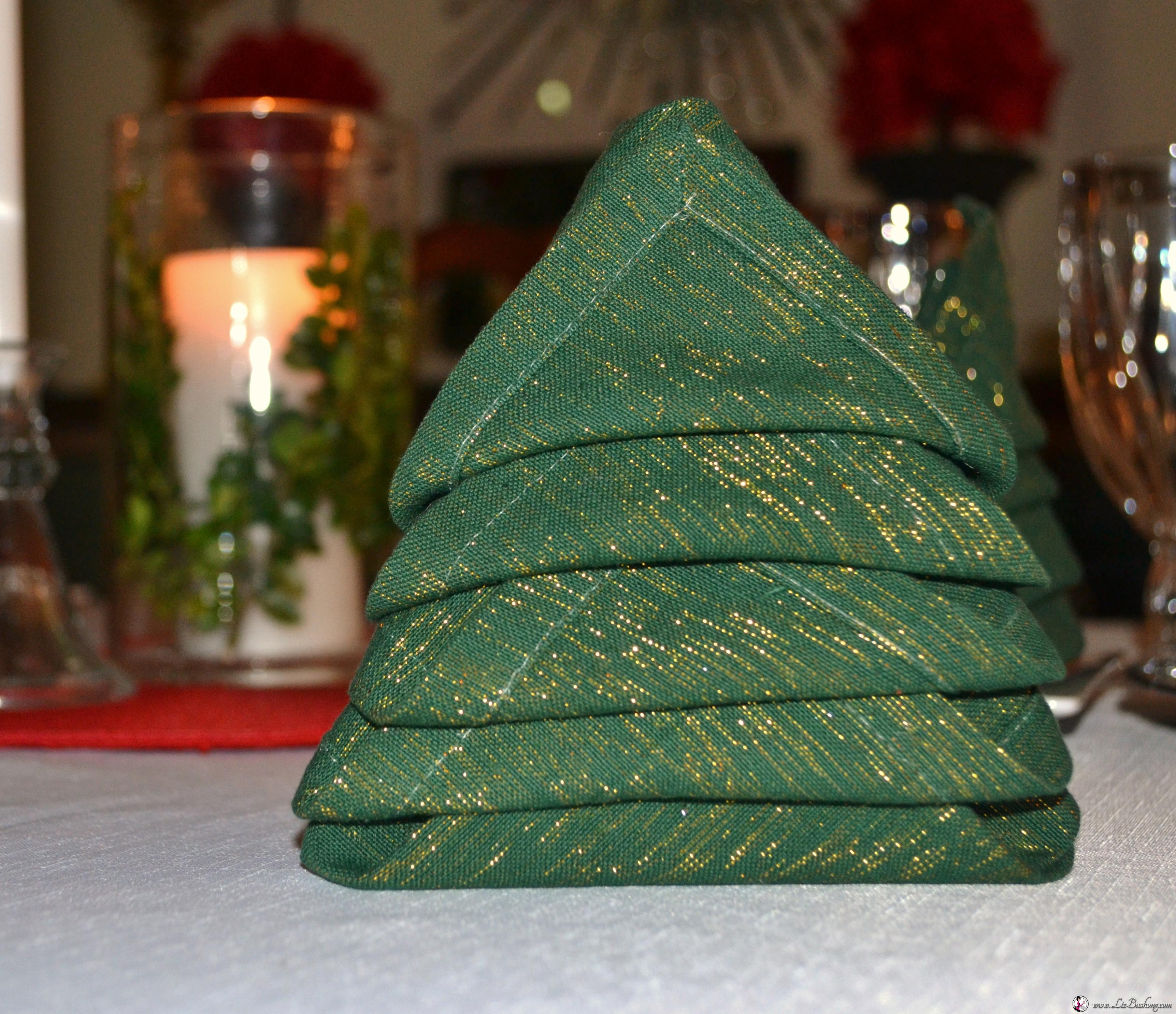 Christmas Tree Napkin Fold Wwwzbushong