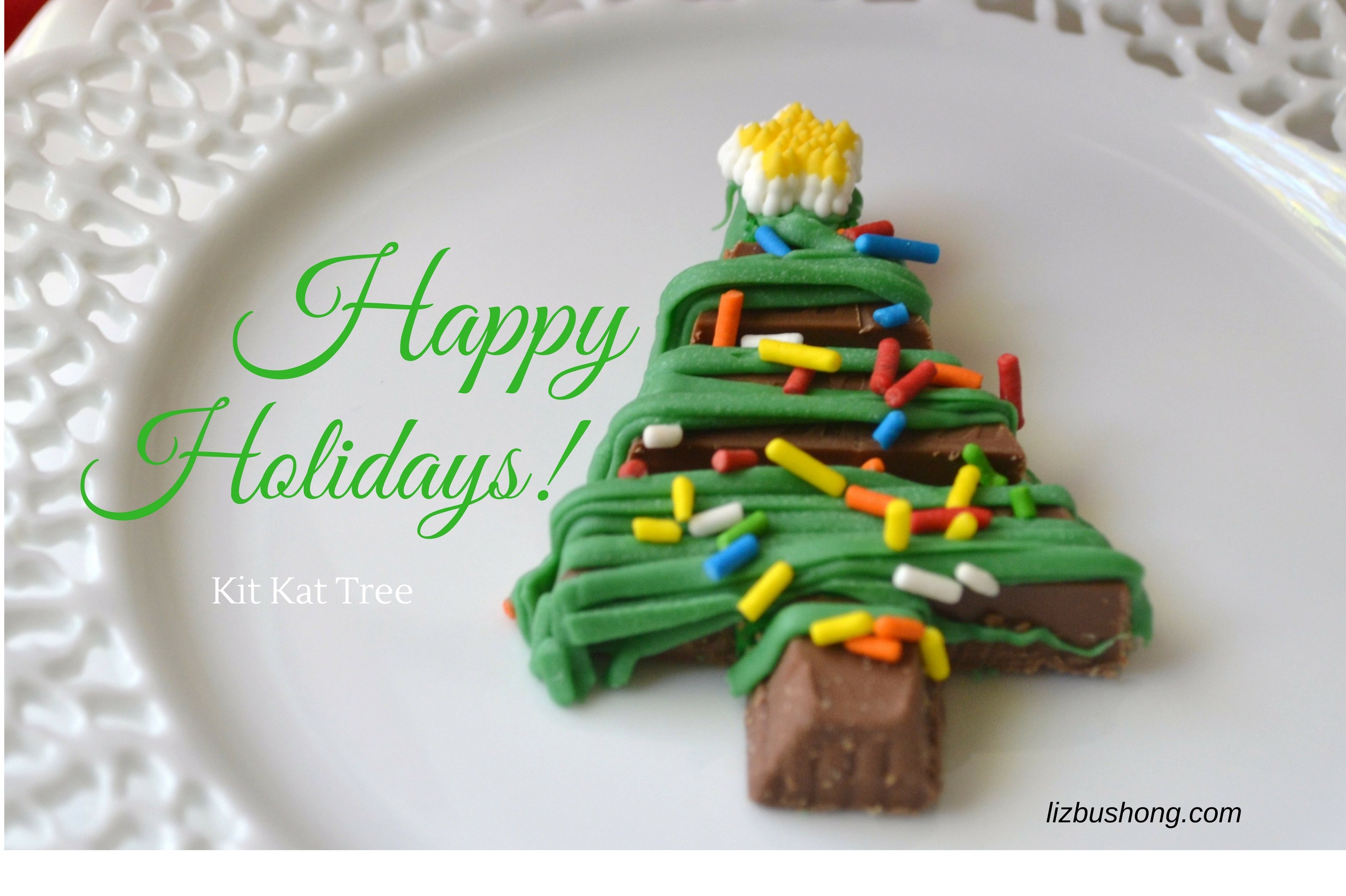 holidays-kit kat Christmas tree-www.lizbushong.com