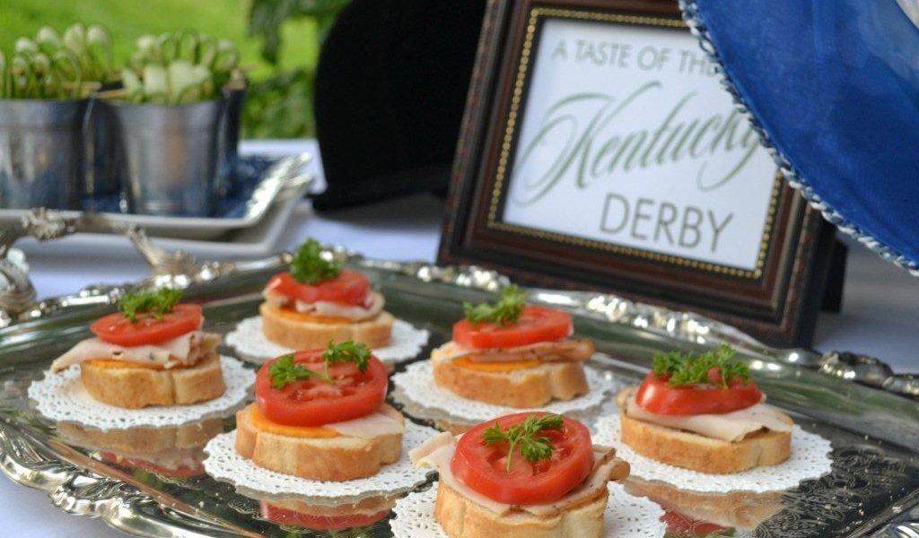 Hot Brown Appetizers- Kentucky Derby