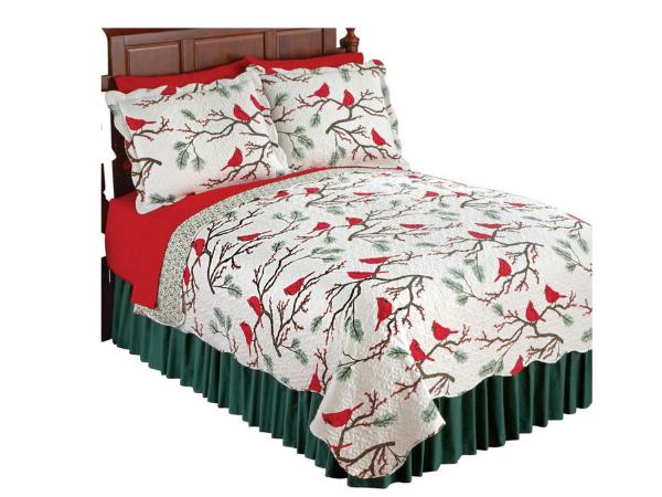 Shop- Christmas Quilt- Cardinals