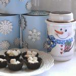 Spiced Cocoa Mix- snowman cocoa