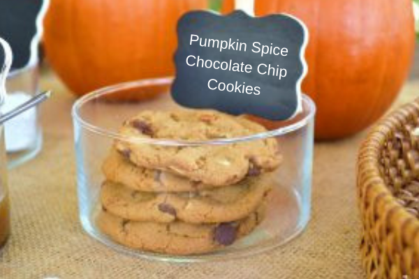 Pumpkin SpiceChocolate ChipCookies