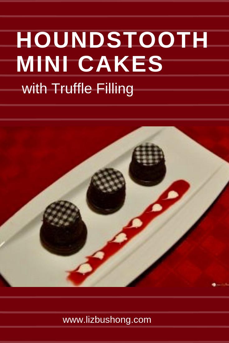 Houndstooth Cupcakes- lizbushong.com