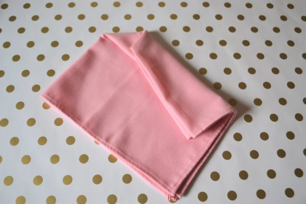 Arrow Dart Napkin-step 3 Fold-Best Pink and Gold tablesetting-lizbushong.com