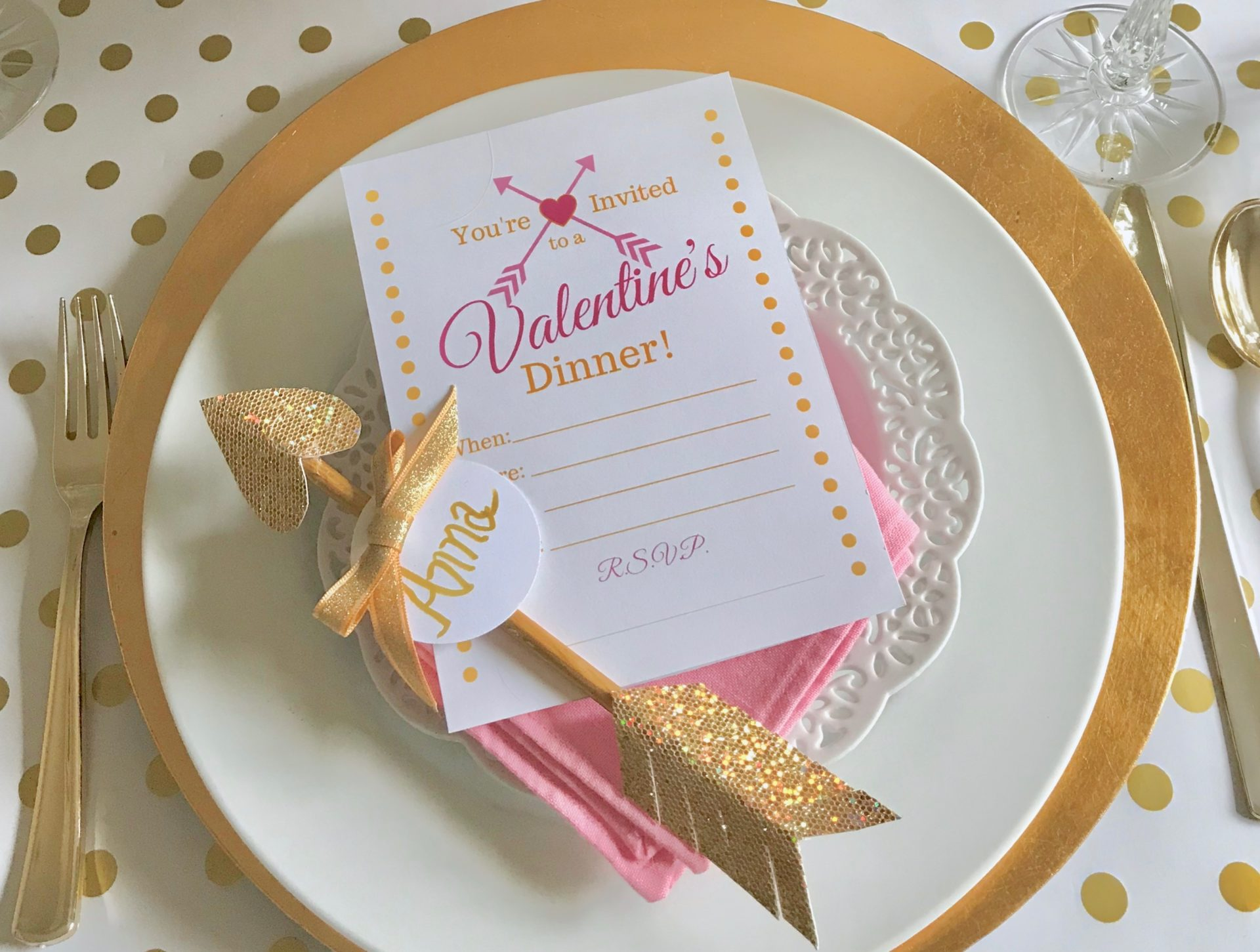 Best Pink and Gold Tablesetting - Liz Bushong