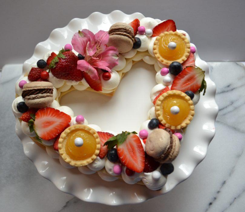 Cream Tart-Valentines Day- Heart-lizbushong.com