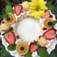 French Cream Tart- Round Size- lizbushong.com
