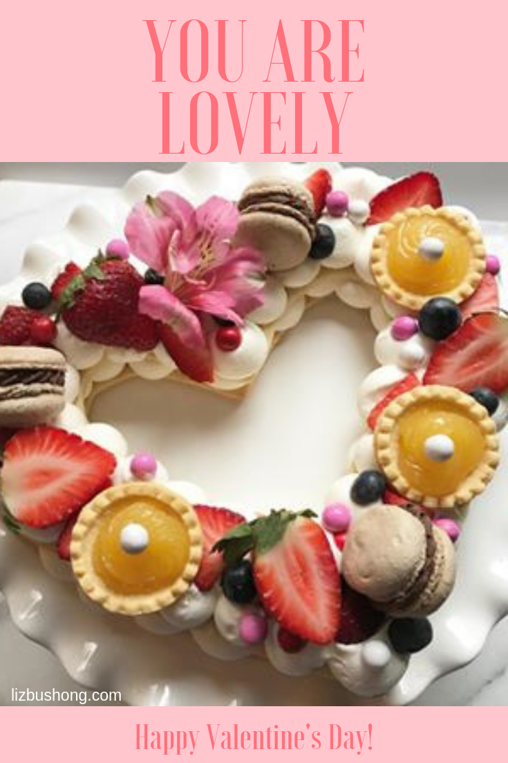 French Creme Heart Tart Valentine Graphic