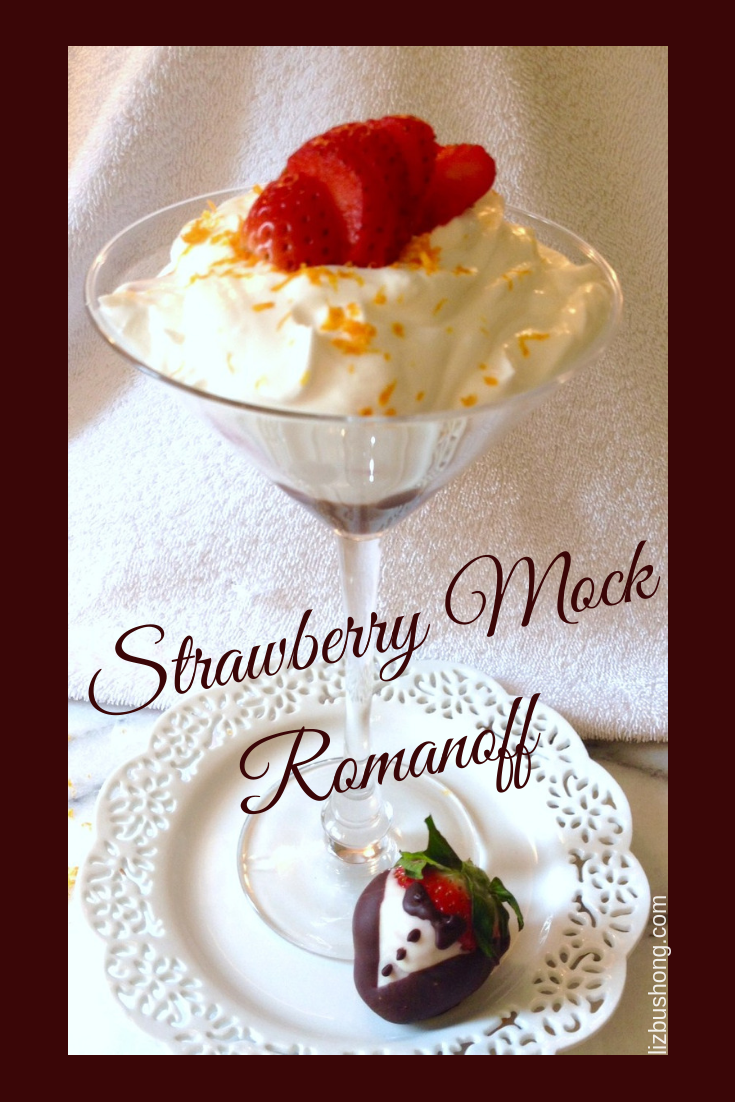 Strawberry Mock Romanoff