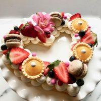 Valentine Cream Tart-lizbushong.com