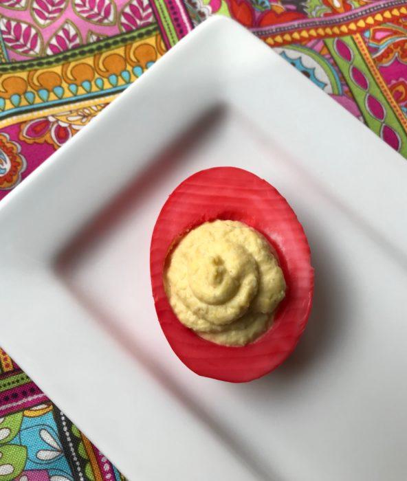 Colored Deviled egg lizbushong.com