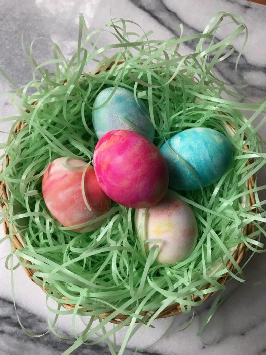 Cool Marbled Easter Eggs. Lizbushong.com
