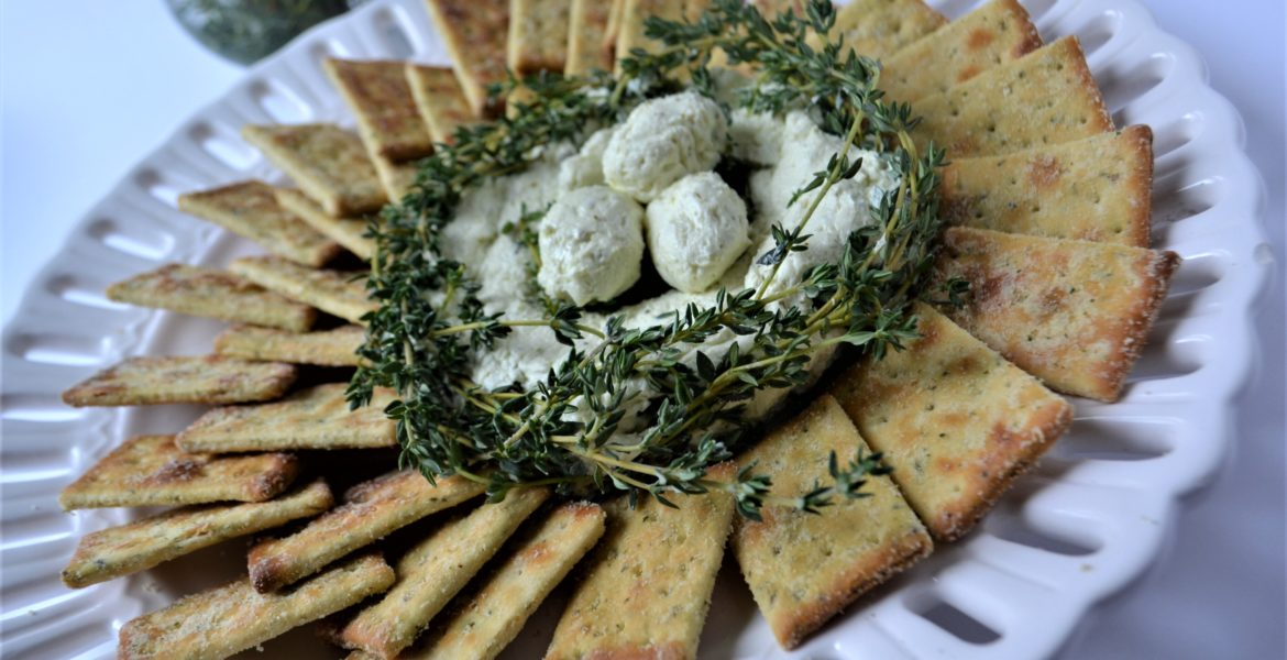 Pesto Goat Cheese Bird Nest-lizbushong.com