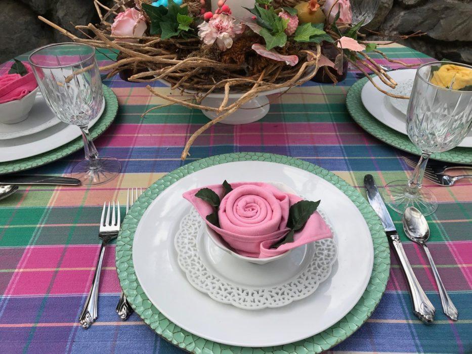 Rose Napkin Fold Complete- 72 dpi-lizbushong.com