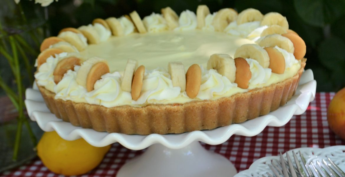 Slice of Summer Pies three cream filled easy to make pies, lemon cream, peaches & cream, Caramel banana cream pie recipe