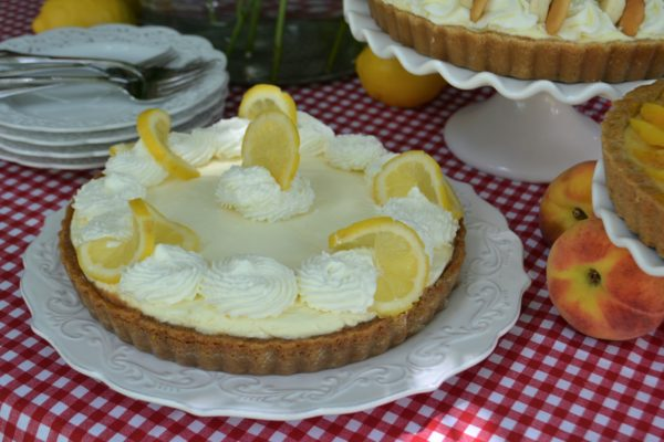 Slice of Summer Pies- Lemon Cream Pie- lizbushong.com