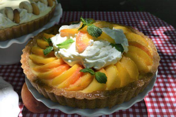 Slice of Summer Pies- Peach Cream Pie-lizbushong.com