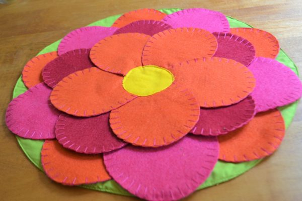 Blooming Flower Placemat-Materials -lizbushong.com