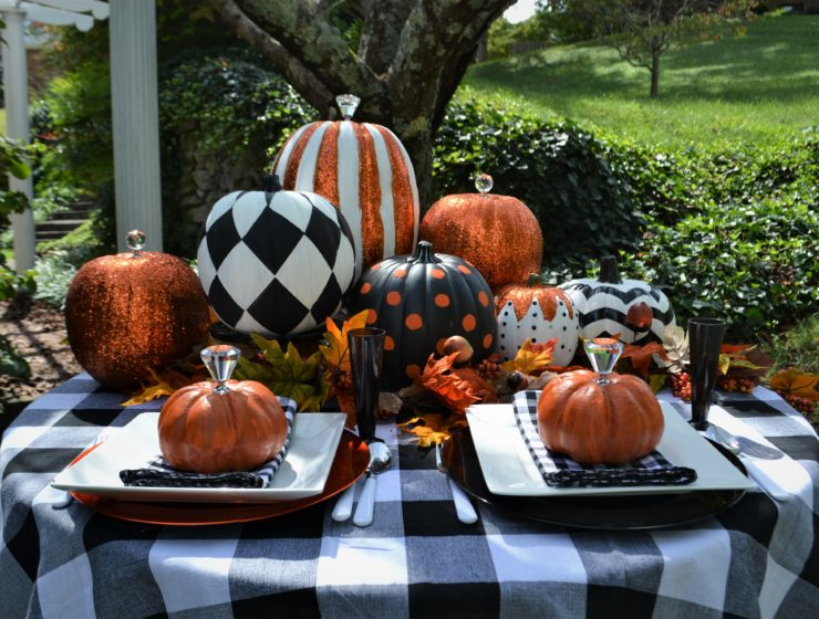 Best Black & White Pumpkin Tablescape-lizbushong.com-9