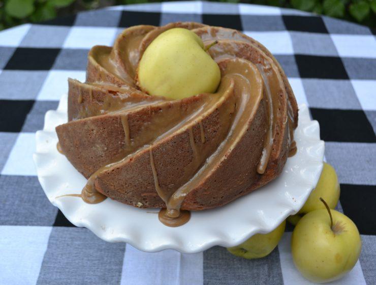 Apple Cider Bundt Cake- 1 lizbushong.com