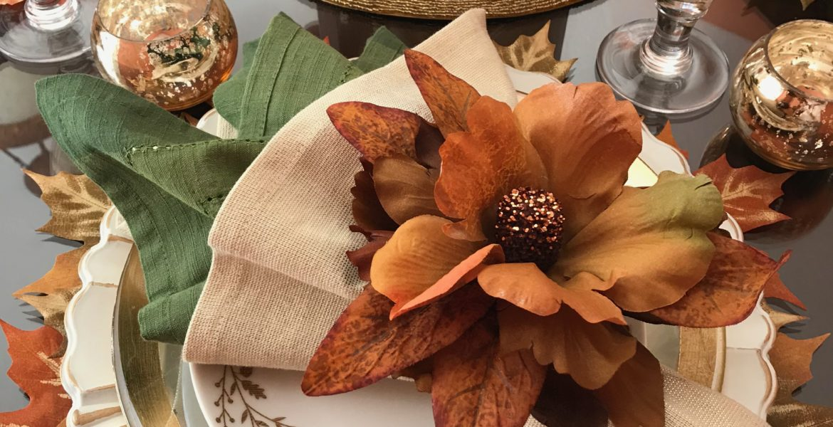 Creative Table Setting Idea|Thanksgiving to Christmas.lizbushong.com