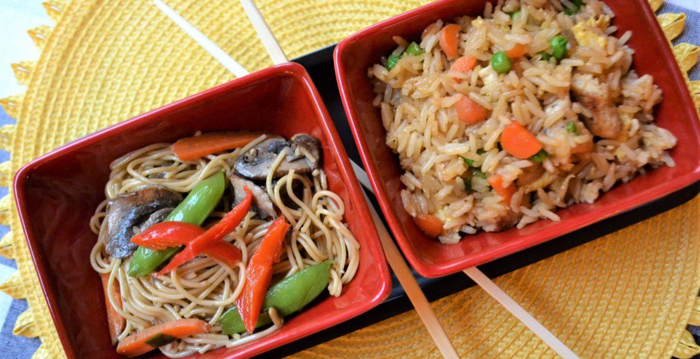 Lo Mein Fried Rice Dinner 1 lizbushong.com