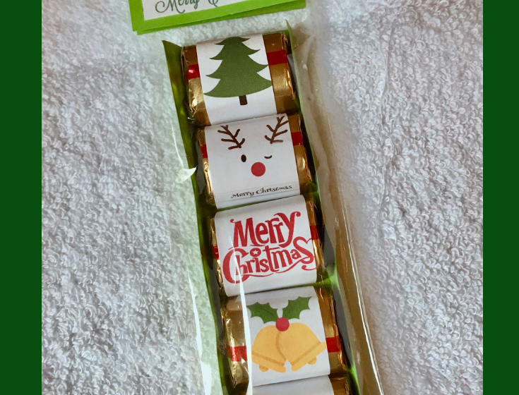 Christmas Candy Treat Bags