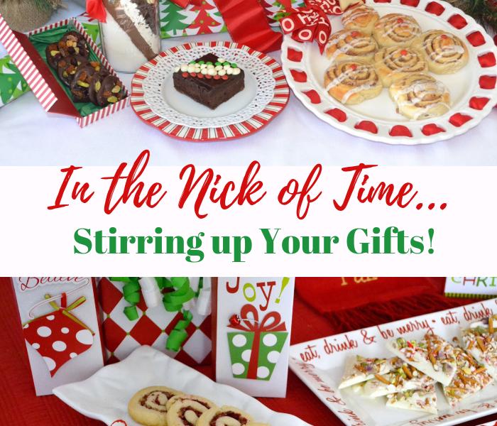 Christmas Food Gifts- infographic lizbushong.com